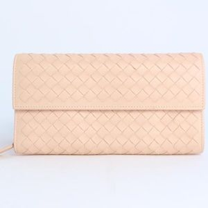 Fold-Over Leather Flap Wallet 5mz0828